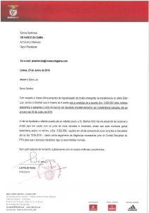 carta - Benfica